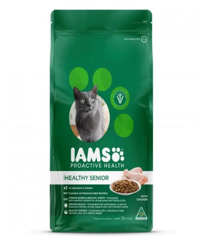 IAMS Healthy Senior with Chicken Cat Food - Pet Mall