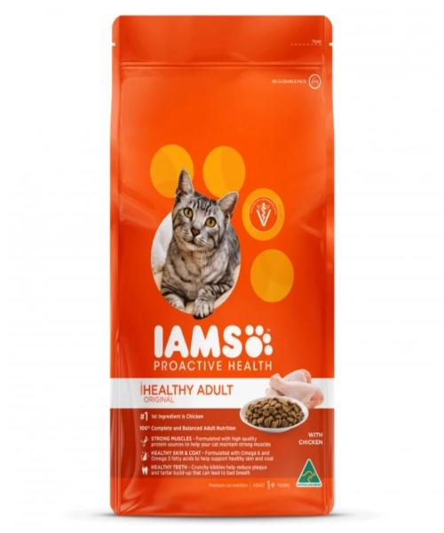 IAMS Healthy Adult Original with Chicken Cat Food - Pet Mall