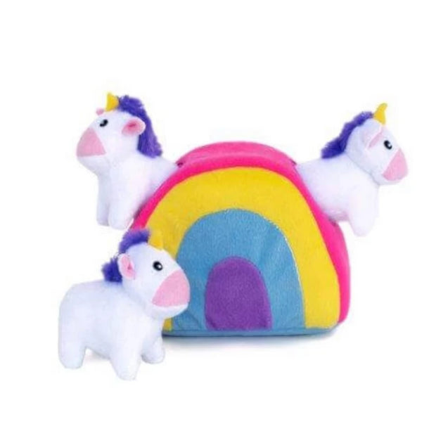 Zippy Burrow Unicorns in Rainbow - Pet Mall