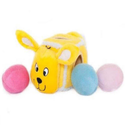 Zippy Burrow Hide An Egg Bunny - Pet Mall