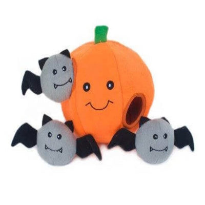 Zippy Burrow Pumpkin with Bats - Pet Mall