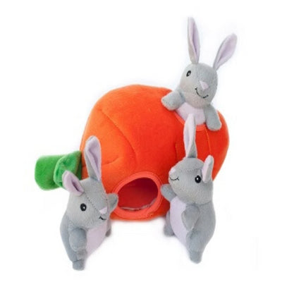 Zippy Burrow Bunny 'n Carrot - Pet Mall