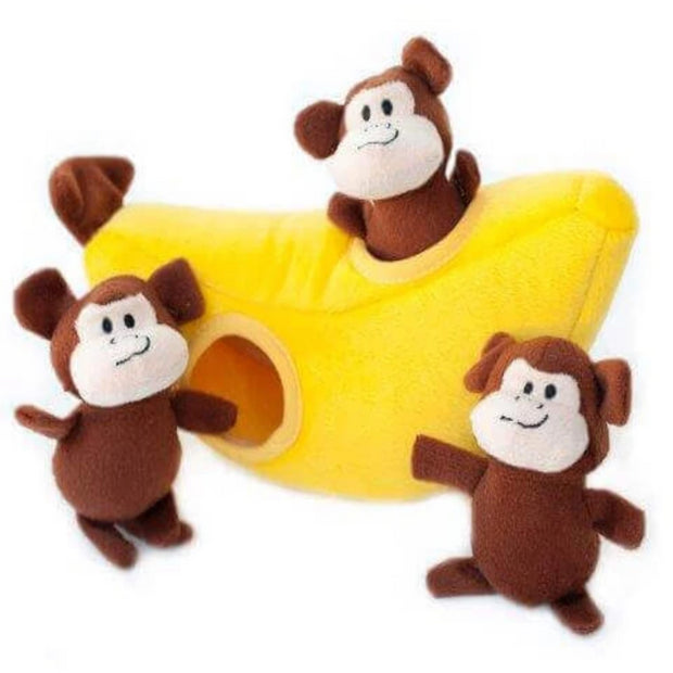 Zippy Burrow Monkey 'n Banana - Pet Mall