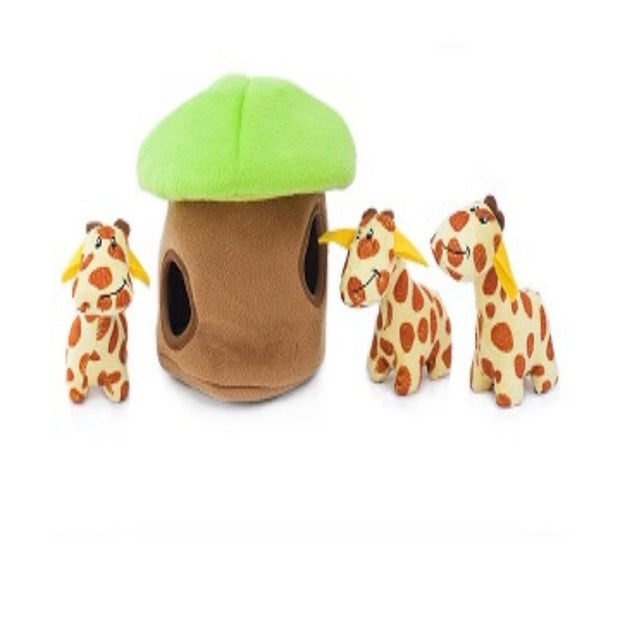Zippy Burrow Giraffe Lodge - Pet Mall