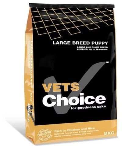 Vets Choice Large Breed Puppy Food - Pet Mall