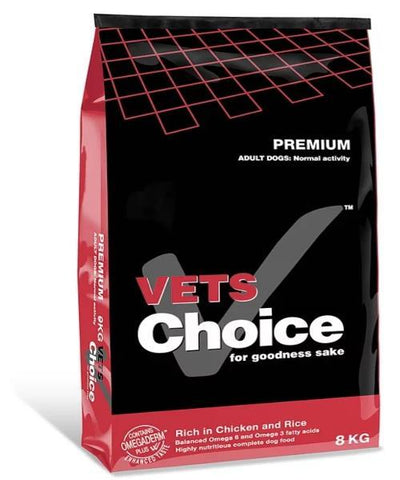 Vets Choice Premium Adult Dog Food - Pet Mall