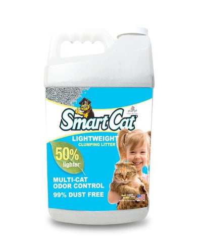 SmartCat Lightweight Clumping Litter 4.54 KG - Pet Mall