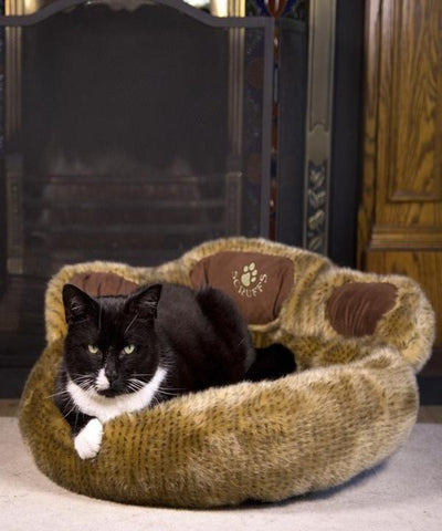 Scruffs Tramps Paw Cat Bed - Pet Mall