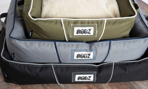 ROGZ LEKKA POD 3D Oxford Dog Bed - Pet Mall