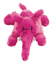 KONG COZIE Pink Elmer the Elephant Plush Dog Toy - Pet Mall