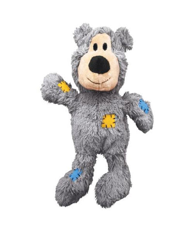 KONG Wild Knots Bear Plush Dog Toy - Pet Mall