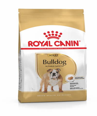 Royal Canin English Bulldog Adult Dog Food 12KG - Pet Mall