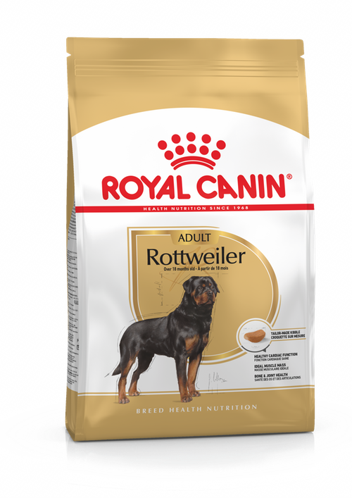 Royal Canin Rottweiler Adult Dog Food 12KG - Pet Mall