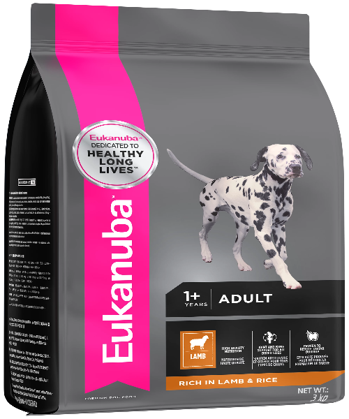 EUKANUBA  Small & Medium Breed Lamb & Rice Adult Dog Food - Pet Mall