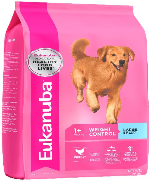 EUKANUBA Large Breed Weight Control Adult Dog Food - Pet Mall