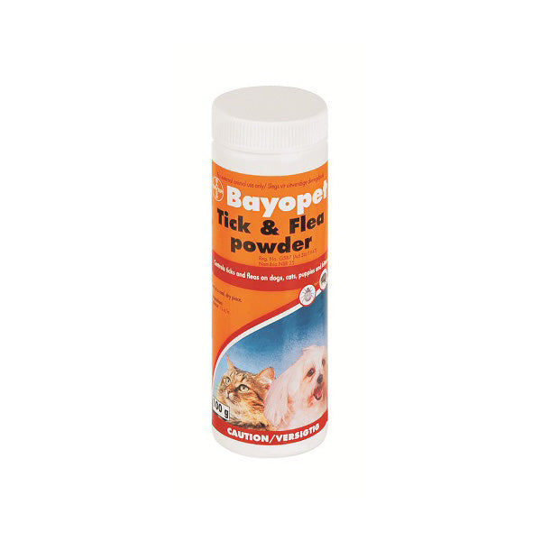 BAYOPET TICK & FLEA PWD 100G - Pet Mall