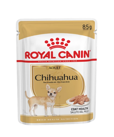 Royal Canin Chihuahua Dog Food Pouches 12 x 85g - Pet Mall
