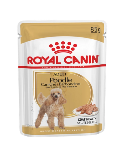 Royal Canin Poodle Dog Food Pouches 12 x 85g - Pet Mall