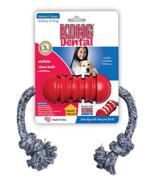 KONG Dental Dog Toy - Pet Mall