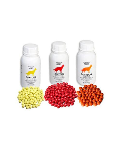 MEDPET DOXYDOG  TABLETS TREATMENT FOR CANINE EHRLICHEA - Pet Mall