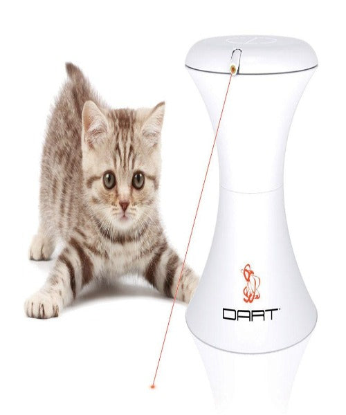 FroliCat™ DART™ Cat Automatic Rotating Laser Light Toy - Pet Mall