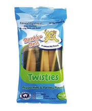Denta-Deli Twisties Peppermint & Parsley Dog Treats - Pet Mall