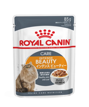 Royal Canin Intense Beauty Gravy Adult Cat Food 12 x 85 g - Pet Mall