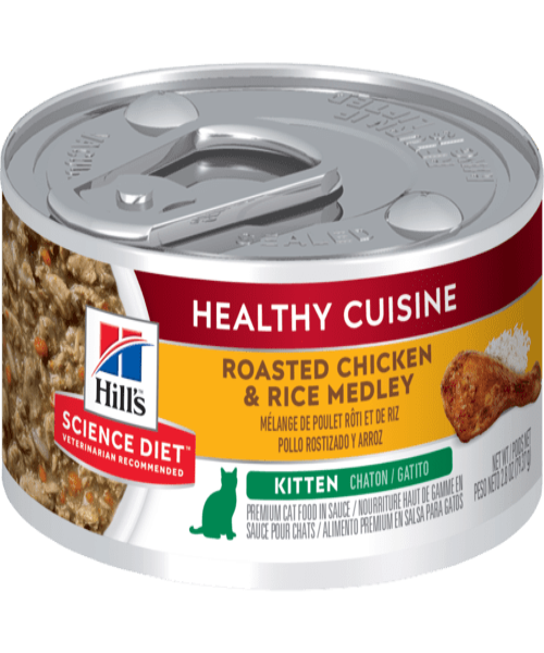 Hill's™ Science Plan™Chicken & Rice Canned Kitten Food 79g x 12 - Pet Mall
