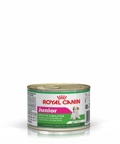 Royal Canin Junior Can Puppy Dog Food 12 x 195 g - Pet Mall