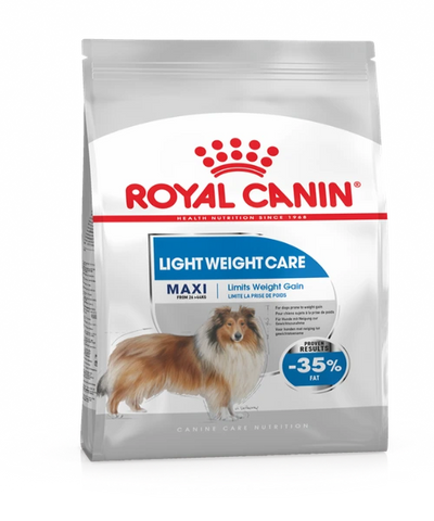 Royal Canin Maxi Light Weight Care Adult Dog Food 10 KG - Pet Mall