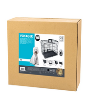 M-PETS Voyager Wire Dog Crate - Pet Mall
