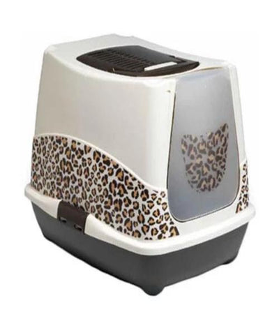 Moderna Trendy Cat Brown Safari Toilet - Pet Mall