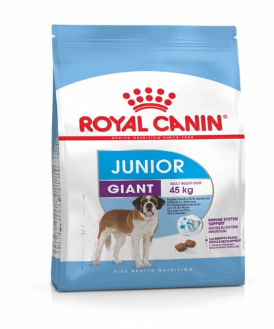 Royal Canin Giant Junior Food - Pet Mall