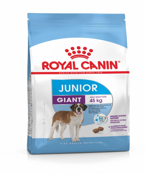 Royal Canin Giant Junior Food 15 KG - Pet Mall