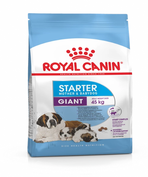Royal Canin Giant Starter Mother & Babydog Food 15 KG - Pet Mall