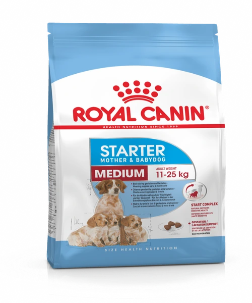 Royal Canin Medium Starter Mother & Babydog Food - Pet Mall