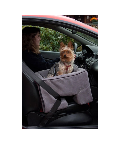 Pet Gear Charcoal Car Seat Booster - Pet Mall