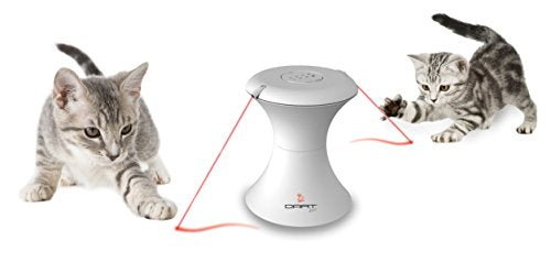 DART DUO™ Pet Interactive Rotating Laser Toy - Pet Mall