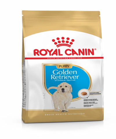 Royal Canin Golden Retriever Junior Puppy Food 12KG - Pet Mall