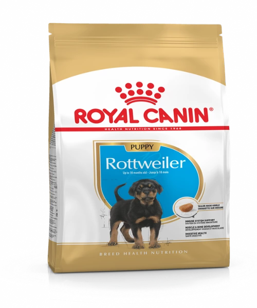 Royal Canin Rottweiler Junior Puppy Food 12 KG - Pet Mall