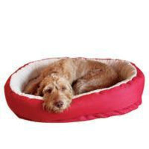 Rosewood Red Orthopaedic Bed - Pet Mall