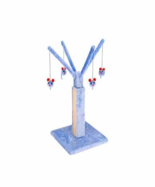 Penn Plax Cat Scratching Post Play Tree with Mouse Toys - Pet Mall