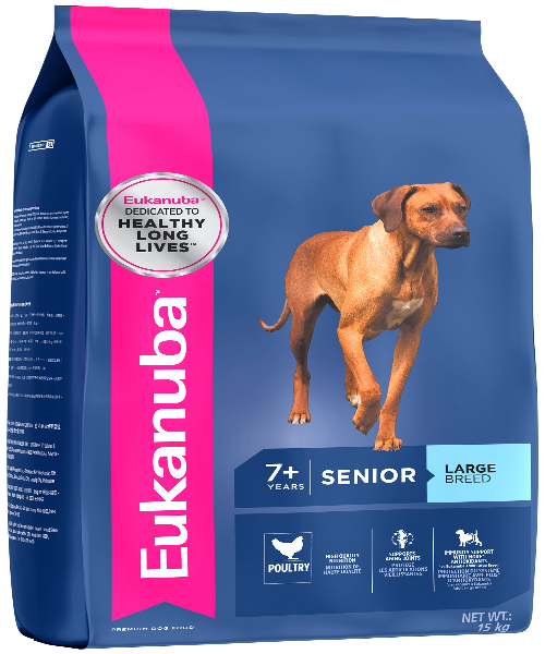 EUKANUBA Senior Large Breed Adult Dog Food - Pet Mall