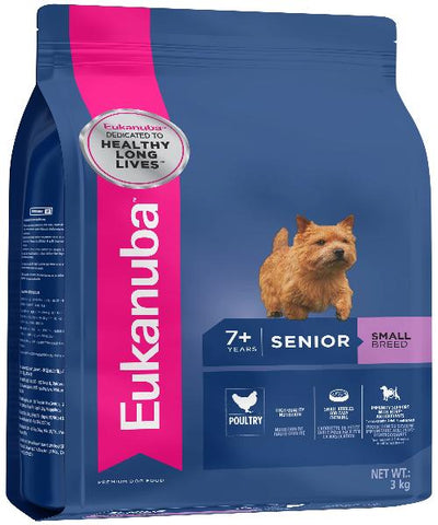 EUKANUBA Senior Small Breed Adult Dog Food - Pet Mall