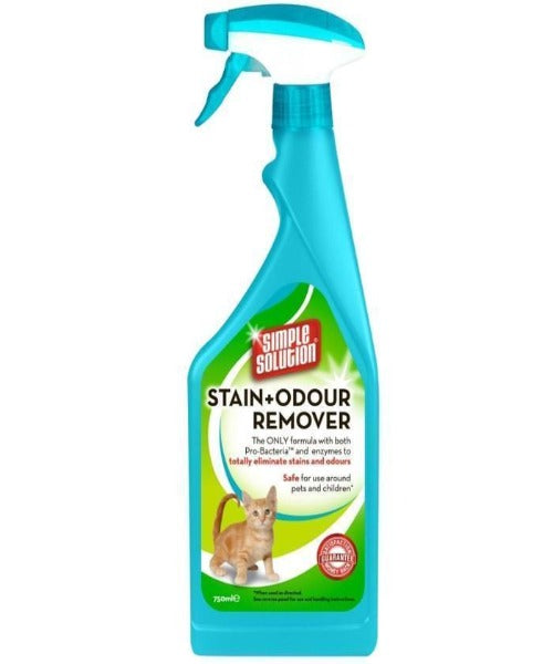 Simple Solution Stain & Odour Remover for Cats - Pet Mall