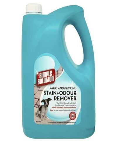 Simple Solution Patio & Deck Stain & Odour Remover 4 L - Pet Mall