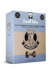 Cuthbert's Kettle Roasted Chicken and Veggies Big & Small Bites Dog Biscuits - Pet Mall