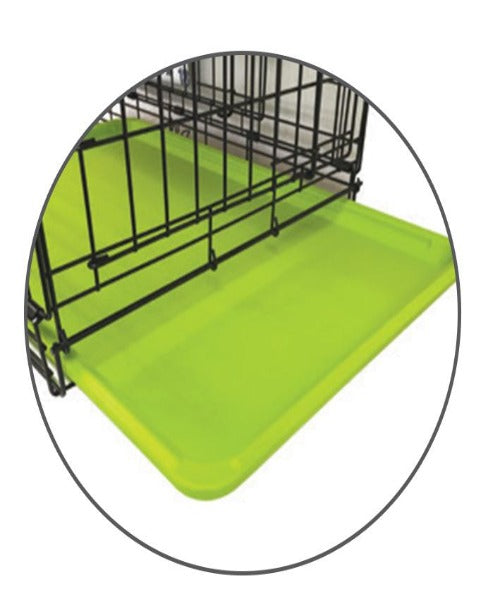 M-PETS Voyager Green Wire Dog Crate - Pet Mall