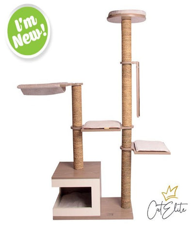CatElite Marlon Cat Tree - Pet Mall