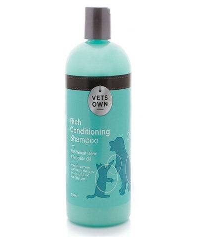 VETS OWN SHAMPOO-RICH CONDITIONING 500ML